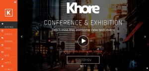 Khore – Best Conference and Event WordPress Theme