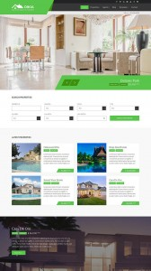 Oikia WordPress Theme, Best Real Estate WordPress Theme, Property listing WordPress theme,